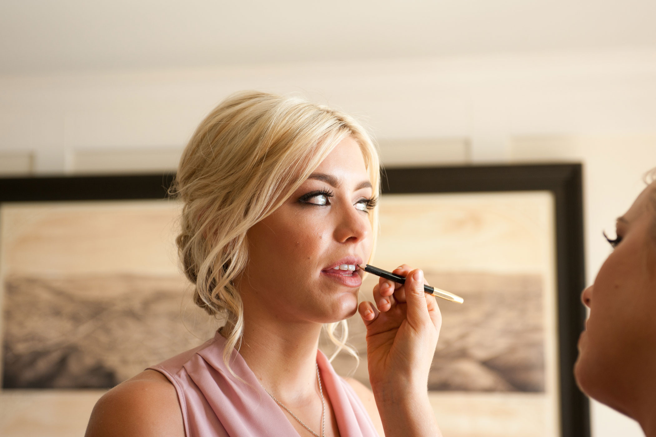 Lip-Liner-And-Blush-Bridesmaid
