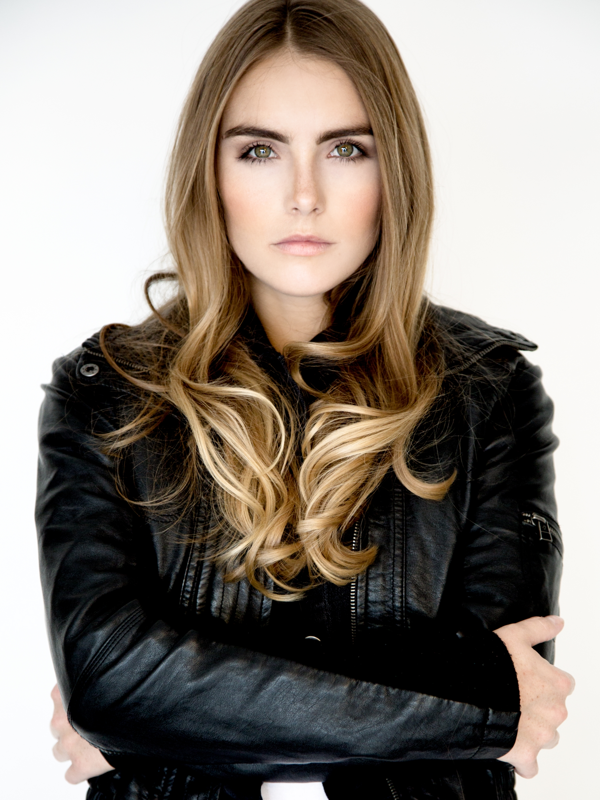Biker Chic- Jana Poole, High Fashion, Spray de Mode, Hot tools- Meg